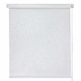 """Рулонная штора """"Дождь"""", белый, 98 см"""