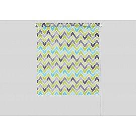 """Рулонная штора """"Фьюжн"""", зеленый, 57 см"""