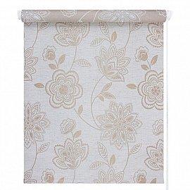 """Рулонная штора """"Флоренс"""", натуральный лен, 42,5 см"""
