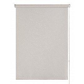 "Рулонная штора ролло ""Фрост"", бело-серый, 160 см"
