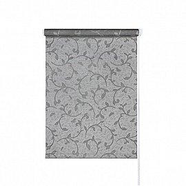 "Рулонная штора ролло ""Грация"", серый, 120 см"