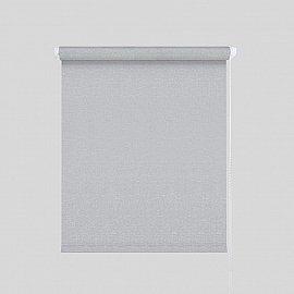 "Рулонная штора ""Гелакси"", серебро, 57 см"