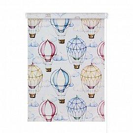 """Рулонная штора ролло """"Воздушные шары"""", 80,5 см"""