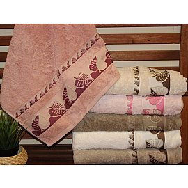 Комплект полотенец Pupilla Махра Sonbahar, 50*90 см - 6 шт