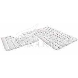Набор ковриков Shahintex Premium SH P (60*100+60*50), белый 59