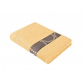 "Полотенце ""Aquarelle Таллин-2"", светло-желтый, 35*70 см"