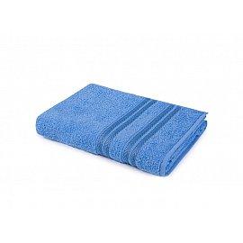 """Полотенце """"Aquarelle Адриатика"""", спокойный синий, 70*140 см"""
