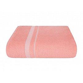 "Полотенце ""Aquarelle Лето"", розово-персиковый, 70*140 см"