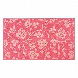 """Полотенце """"Aquarelle Розы-2"""", розово-персиковый, коралл"""