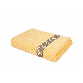 "Полотенце ""Aquarelle Таллин-1"", светло-желтый, 50*90 см"
