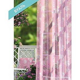 Комплект штор Прованс Вуаль Plum Rose, розовый