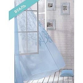 Комплект штор Лофт Вуаль Dove, голубой