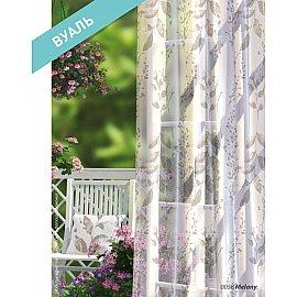 Комплект штор Прованс Вуаль Melany, коричневый