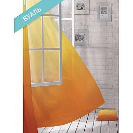 Комплект штор ЛОФТ Вуаль Parrots, желтый, оранжевый, 270 см