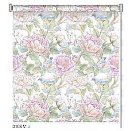 """Рулонная штора ролло """"Mia"""", дизайн 0108, 100 см"""