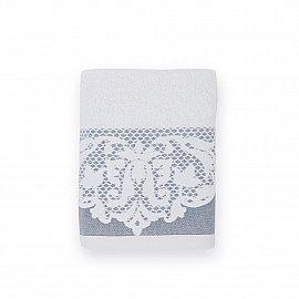 Полотенце махровое 'Романтика', Габриэль 70*140 см, белый