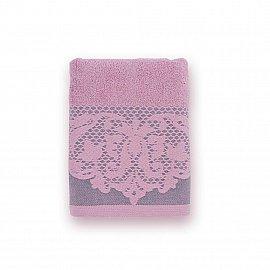 Полотенце махровое 'Романтика', Габриэль 70*140 см, розовый