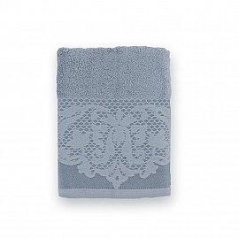 Полотенце махровое 'Романтика', Габриэль 50*90 см, холодный серый