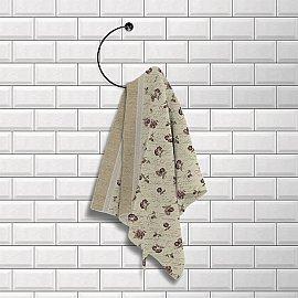 Комплект вафельных полотенец (2 шт) 40х50 'Шарлиз' Шебби-шик