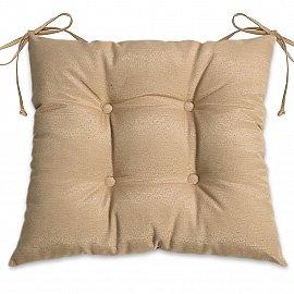"""Подушка для сидения """"Анита-люкс""""-3, коричневый"""