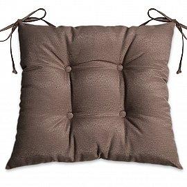 """Подушка для сидения """"Анита-люкс""""-4, темно-коричневый"""