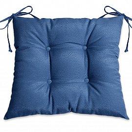 """Подушка для сидения """"Анита-люкс""""-7, синий"""