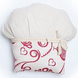 """Декоративная подушка """"Кекс-1"""", бордовый"""