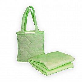 """Покрывало в чехле """"Пляжный комплект Симба"""" -17, ярко-зеленый"""