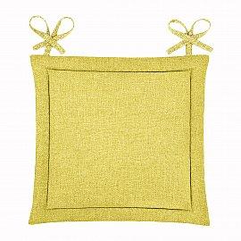 "Подушка для стула ""Home&Style"" Горчица"