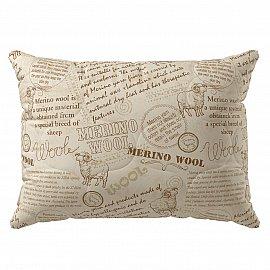 Подушка Волшебная ночь меринос, хлопок, 70*70 см