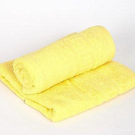 """Полотенце махровое """"Арк Ашхабад"""" греческий бордюр, лимонный, 50*90 см"""