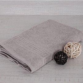 "Полотенце махровое ""Арк Ашхабад"" греческий бордюр, серый, 50*90 см"