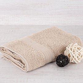 "Полотенце махровое ""Арк Байрамали"" бордюр косичка, светло-серый, 40*70 см"