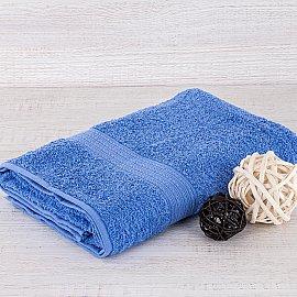 "Полотенце махровое ""Арк Байрамали"" бордюр косичка, голубой, 40*70 см"