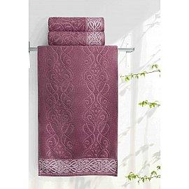 Полотенце махровое Aquarelle Толедо, дикая роза, 50*90 см