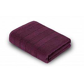 Полотенце махровое Verossa Milano, темно-бордовый, 70*140 см