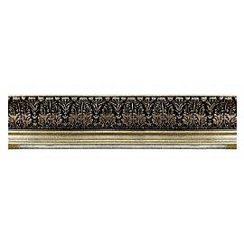 """Карниз потолочный багетный """"Премьер"""", 3 ряда, бронза, 240 см"""