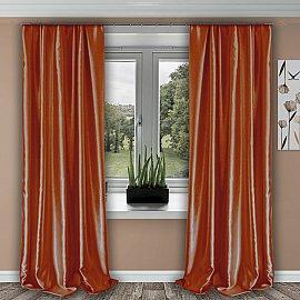 Портьеры №011, оранжевый