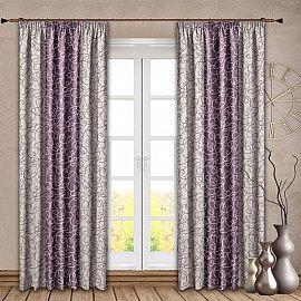 Комплект штор №121 Сиреневый