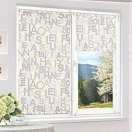 """Рулонная штора """"Сантайм-рисунок Глория Литера-1"""", ширина 115 см"""