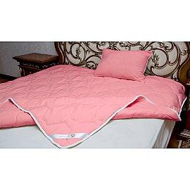 "Одеяло классическое ""Жатка"", коралл, 200*215 см"
