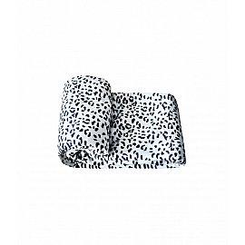 "Плед велсофт ""Белый леопард"", дизайн №14, 200*240 см"