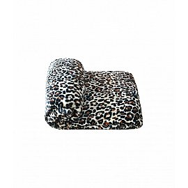 "Плед велсофт ""Леопард"", дизайн №11, 200*200 см"