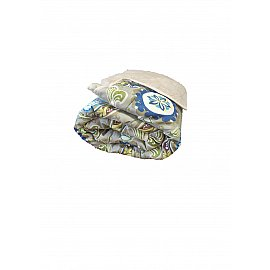 Плед меховой полиэстер, дизайн №4, 140*200 см
