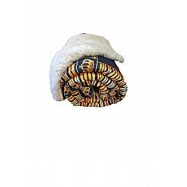 Плед меховой сатин, дизайн №4, 140*200 см