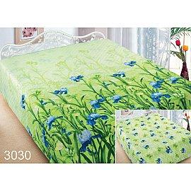 Покрывало Шарм №3030, салатовый, синий, 200*220 см