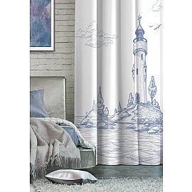 """Шторы Лофт """"Волшебная Ночь"""" Габардин Lighthouse, 150*270 см"""