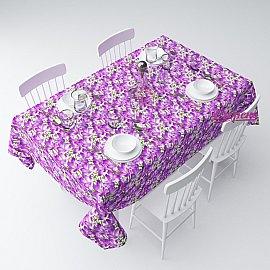 """Скатерть """"Фиолетовый шафран"""", 145*220 см"""