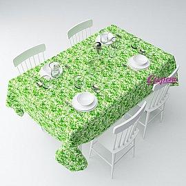 """Скатерть """"Зеленые ветки"""", 120*145 см"""