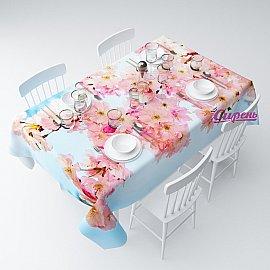 """Скатерть """"Весна в цвету"""", 145*220 см"""